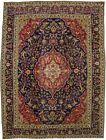Vintage Traditional Pictorial Design 10X13 Handmade Oriental Rug Decor Carpet