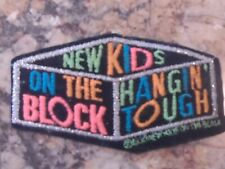 Vintage New Kids On The Block Patch Embroidered