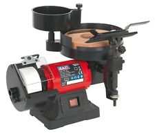 Bench Grinder/Sharpener Wet & Dry Ø200/125mm 250W/230V - Sealey - SMS2107
