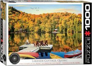 Eurographics 1000 Piece Jigsaw Puzzle - Lakeside Cottage, Quebec EG60005427