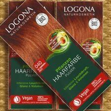 Logona Pflanzen-Haarfarbe 040 Flammenrot 100g Naturkosmetik pflegend vegan bio