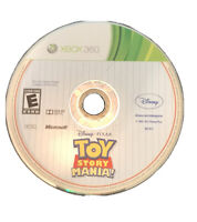 Toy Story Mania Xbox 360 Kids Game Disc Disney Pixar