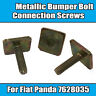12x Bumper Bolts For Fiat Panda 4X4 Metal Connection Screw 141A 750 1000 7628035