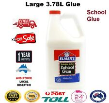 Elmers School Glue Bottle Strong LARGE 1 Gallon/3.78L Great For Making Slime