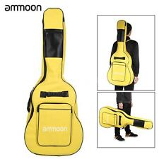 """ammoon Double Straps 600D Big Case Cover Bag Backpack for 40"""" 41"""" Guitar O7Q6"""