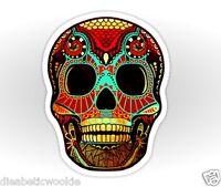 Skull food Sticker decal car laptop scrapbook