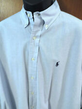 "Polo Shirt, Size XL, (Sleeves 34/35"") in Blue, Micro Cotton, EUC"