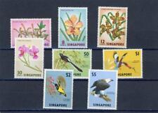 Singapore 1963 Birds, Flowers  Scott# 62-69 mint LH