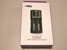 EFEST SODA INTELLIGENT CHARGER LUC FOR Li-Ion Li-Mn battery 18650 18500 16340