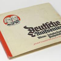 German Uniforms Freedom Wars 1813-1815 w/240 tobacco cards Cigarette Album Book