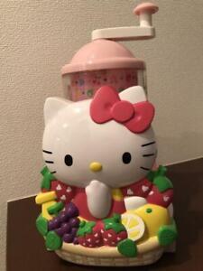 Hello Kitty Shaved Ice Machine Manual Fruit Sanrio