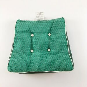 Vintage 60's 70's Chair Seat Cushion Green Active Specialty Co Pad Two Sided