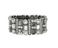 Lia Sophia Jewelry PARTY FAVOR Stretch Bracelet in Silver Size M/L RV$132