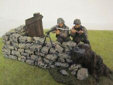 W. Britain - World War II German Waffen SS MG42 Team 17147 WWII