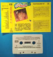 MC Musicassetta FESTIVALBAR '87 2 david bowie duran depeche mode geldof no lp cd
