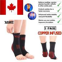 Ankle Brace Sock Compression Socks Foot Sport Sleeve Support Upgraded Version