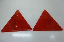 2 Dreieckrückstrahler Reflektor DDR Anhänger HP 400 NEU