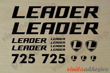 PEGATINA VINILO STICKER Leader 725 bicicleta bike autocollant aufkleber