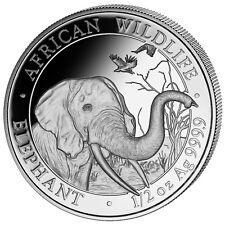 Somalia Elefant 2018 Silber Silver Argent 1/2 OZ Unze African Wildlife Elephant
