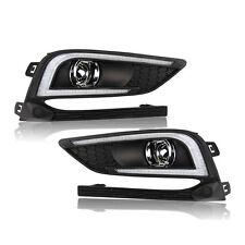 2pcs For Chevrolet Cruze LED DRL Daytime Running Lights Fog Driving Lamp Cover