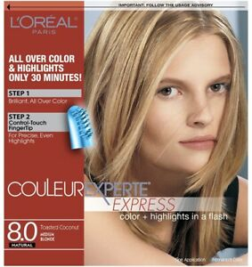 L'OREAL - Couleur Experte Medium Blonde/ Toasted Coconut 8.0 (Pack Of 6)
