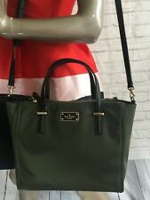 NWT Authentic KATE SPADE alyse wilson road crossbody bag EVERGREEN best selling