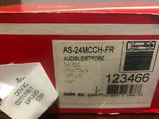 Cooper Wheelock As 24mcch Fr Audible Strobe Fire Ceiling Red