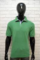 Polo Maglia Uomo TOMMY HILFIGER Taglia XL Slim Maglietta Shirt Cotone Jersey