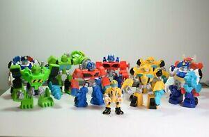 Lot of 10 Playskool Transformers Rescue Bots