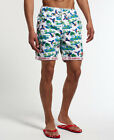 New Mens Superdry Honolulu Shorts Red Macaw
