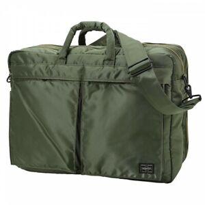 Yoshida Bag PORTER TANKER 2WAY BRIEFCASE 622-69309 Sage Green New Free Shipping