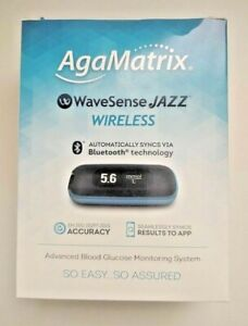 AgaMatrix Wavesense Jazz Wireless/Bluetooth Blood Glucose Meter/Monitor/System