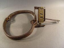 107963, Antike afrikanische Halsfessel, Halseisen, für Sklaven, um 1600