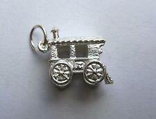Sterling Silver small Gypsy caravan charm