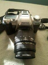 PENTAX MZ-50 35mm SLR CAMERA WITH SIGMA ZOOM 28-80mm 1:3.5-5.6 MACRO LENS