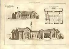 1903 British Pavilion St Louis Exhibition Ernest George Yeates