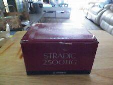 Shimano Stradic 2500HG FK Spinning Reel ST2500HGFK NEW
