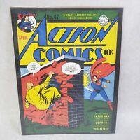 "ACTION COMICS #47 1942 SUPERMAN VINTAGE DC COMICS SERIES 11""X14"" POSTER"