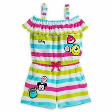 New Disney Emoji Monsters Inc Character Terry Swimsuit Cover-Up Girls 3 yr NWT