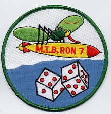 M.T.B. RON 7 - Misquito carring Torp and dice BC Patch Cat. No. B963