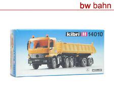Kibri H0 14010 Bausatz MB Actros Meiller Kipp-Auflieger LKW Neu
