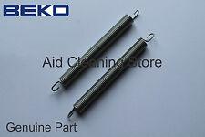 2 x Beko DW600 DWLT65 DWLT68 DIN1401XN Dishwasher Door Hinge Springs 1881030100