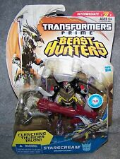 TRANSFORMERS PRIME BEAST HUNTERS STARSCREAM DECEPTICON SET