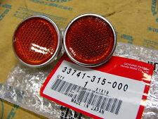 Honda CB 750 Four K0 K1 Seitenstrahler Set Reflector  Assy., front reflex Set