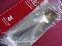 WMF Perlrand 90 versilbert 6 Mokkalöffel 11 cm NEU Orginalverpackt