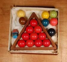 Vintage Miniature Snooker Balls