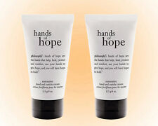 Philosophy Hands of Hope Hand & Cuticle Cream Duo-4 OZ. Non-Greasy-Save on 2 NEW