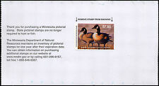 MINNESOTA #38 2014 STATE DUCK STAMP CANADA GOOSE by Scot Storm