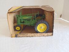 Vintage ERTL John Deere Tractor DieCast 1/16 Model G w Box