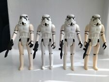 Vintage Star Wars Figures Stormtroopers X4.